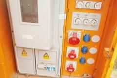 Baustromkasten noch ohne Zähler