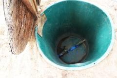 Wasserschacht für Bauwasser