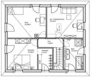 Grundriss - Obergeschoss