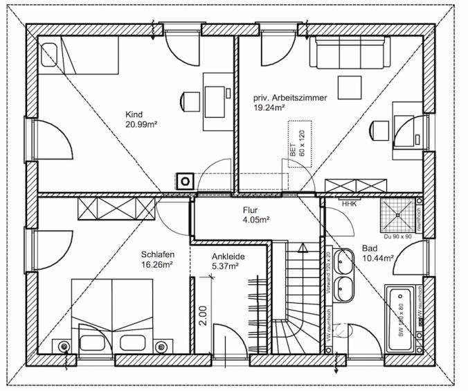 grundriss obergeschoss baublog werder bautagebuch und erfahrungsbericht. Black Bedroom Furniture Sets. Home Design Ideas