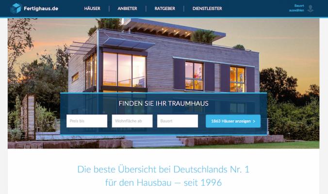 Hausbau-Portal Fertighaus.de