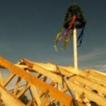 Der Dachstuhl steht – Unser Richtfest