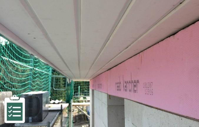 Dachüberstand Checkliste