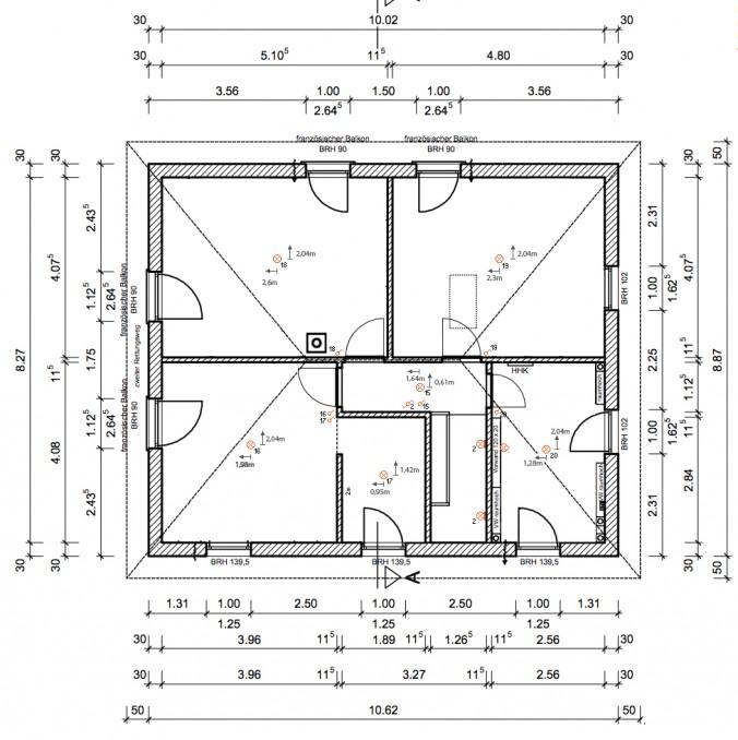 licht und lampen im obergeschoss baublog werder bautagebuch und erfahrungsbericht. Black Bedroom Furniture Sets. Home Design Ideas