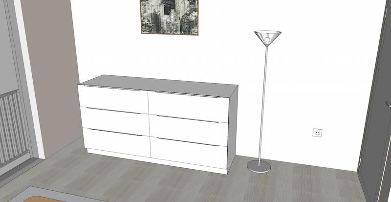 schlafzimmer kommode baublog werder bautagebuch und. Black Bedroom Furniture Sets. Home Design Ideas