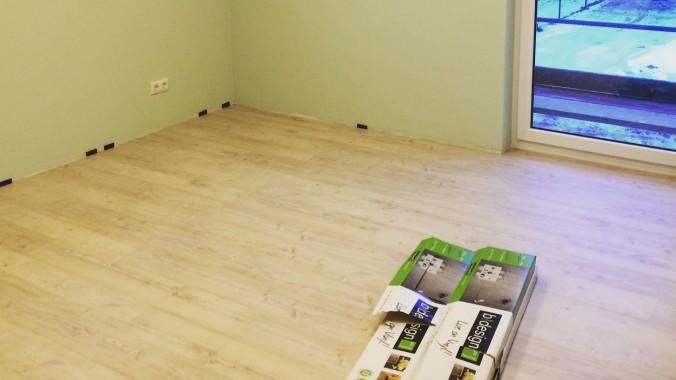 Vinylboden selbst verlegen