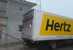 Umzug-Transporter