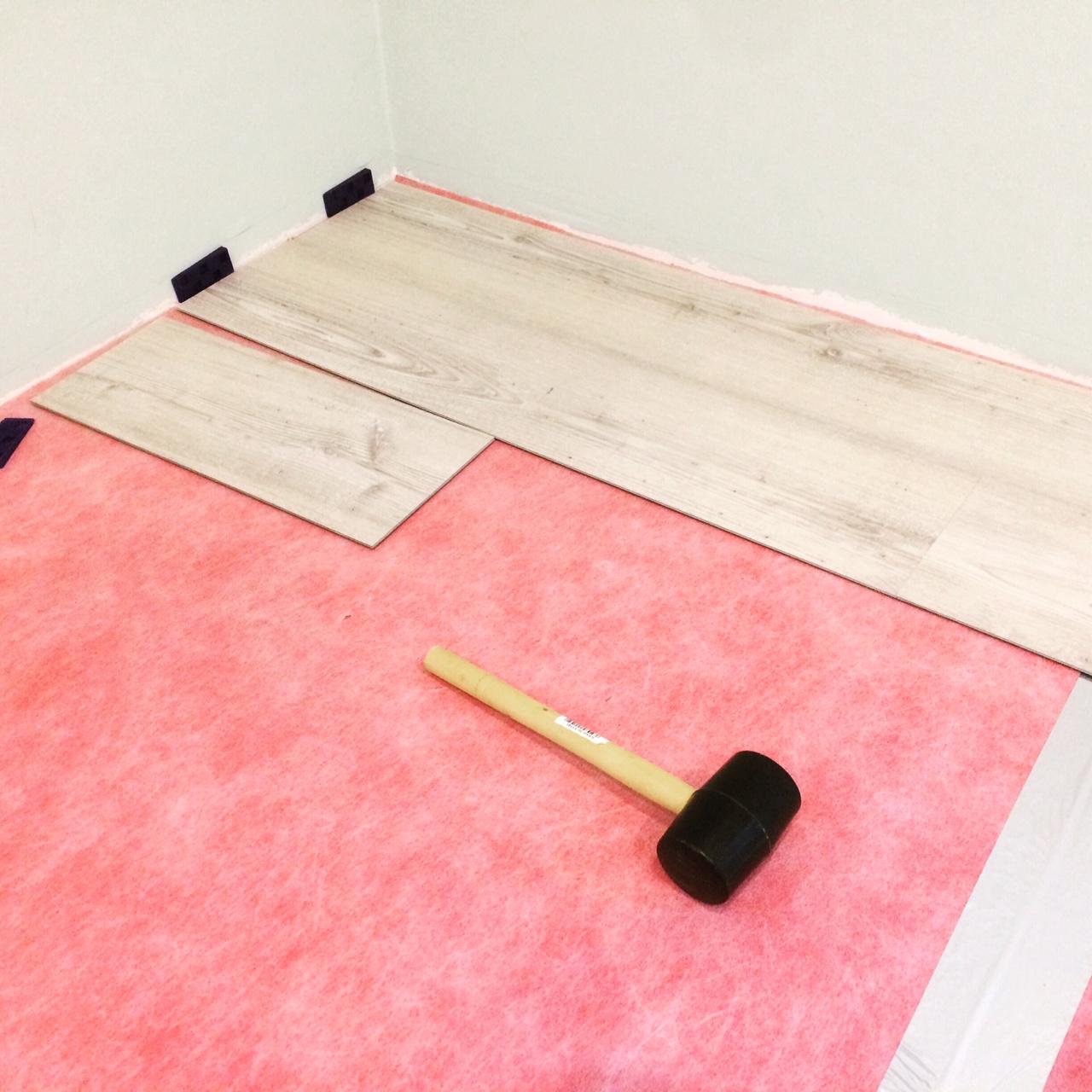 vinyl mit unterlegsmatte baublog werder bautagebuch und erfahrungsbericht. Black Bedroom Furniture Sets. Home Design Ideas