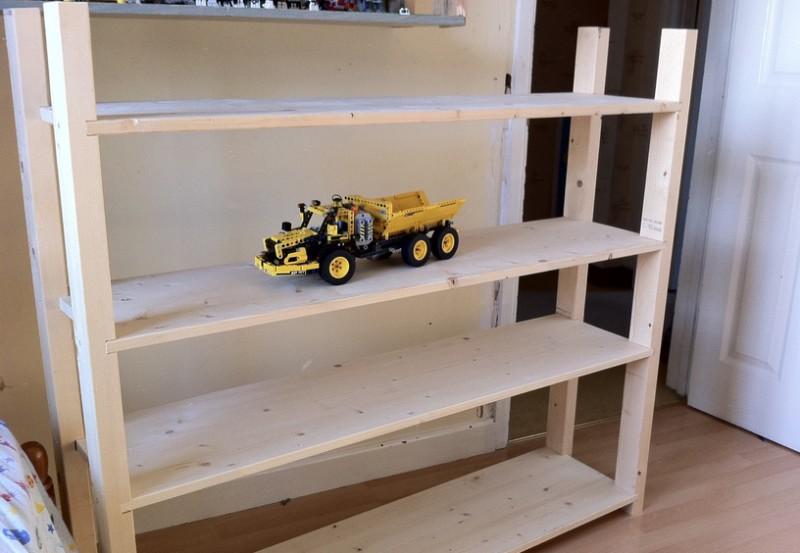 Holzregal selber bauen