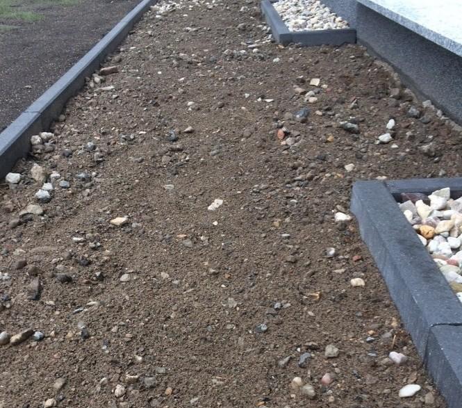 Garten Randsteine: Gehwege Mit Recycling Schotter