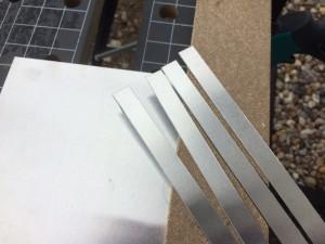 Einzelteile schneiden