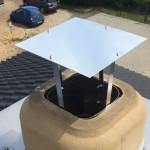 Abdeckung für Schornstein selber bauen (DIY)