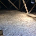 Dachboden ausbauen und mit OSB-Platten begehbar machen