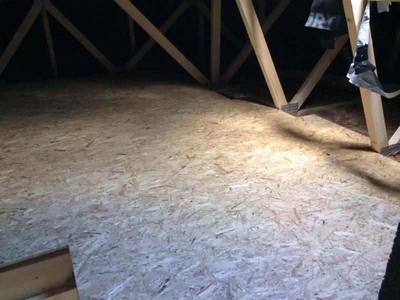 Dachboden Ausbauen Und Mit Osb Platten Begehbar Machen