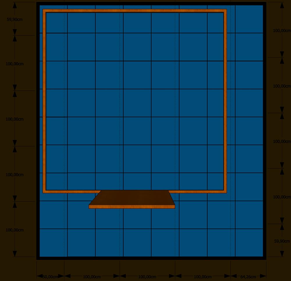 ein fundament f r ein gartenhaus selbst pflastern. Black Bedroom Furniture Sets. Home Design Ideas
