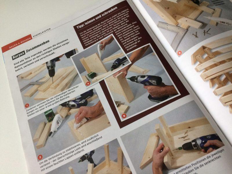 """Stapelboxen - ein DIY Projekt in der aktuellen """"selber machen"""" Ausgabe"""