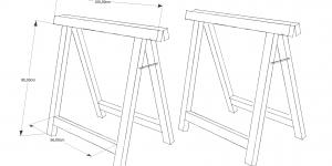 Einen Holzbock selber bauen